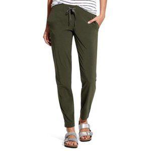 Athleta Olive Green Midtown Pants Sz 8